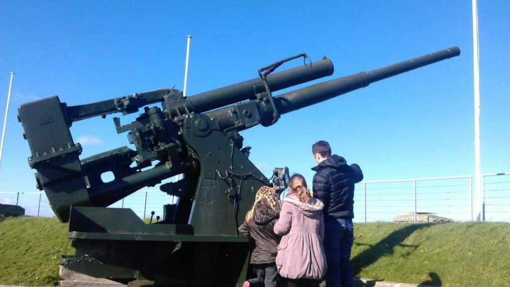 Blended military family day out